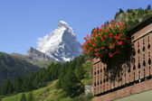 Mount Matterhorn, Zermatt — Stock Photo