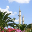Minarets of Hagia Sophia, Istanbul — Stock Photo