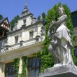 Statue in Peles Castle in Sinaia - Stock Photo