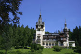 Schloss peles in sinaia — Stockfoto