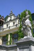 Pomnik w zamku peles w sinaia — Zdjęcie stockowe