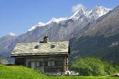 Monte Rosa, Zermatt — Stock Photo