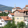 Center of the city of Krk - Stock Photo