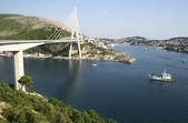 New bridge in Dubrovnik — Стоковое фото