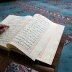 Student studying Islam — Stock Photo