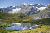 Mountain lake in Alps — Stock Photo