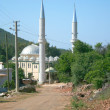 Mosque in small turkish village — Stock Photo
