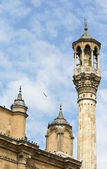 Minaret of the mosque — Stock Photo