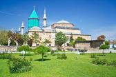 View of sacred Sufi Center in Konya — Stock Photo