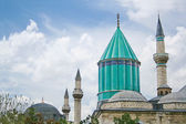 View of sacred Sufi Center in Konya — Stock Photo