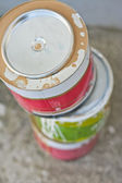 Cans of paints — Stock Photo