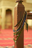 Rosary in the mosque — Stock Photo
