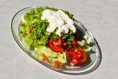 Summer salad — Stock Photo