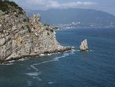 "Rock ""Sail"", Crimea — Stock Photo"