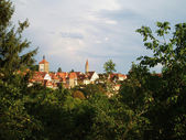 Rotenburg on Taube, Germany — Stock Photo