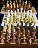 Chess from onix — Stock Photo