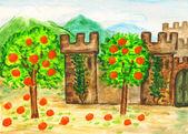 Spain, painting — Stock Photo