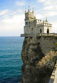 "Castle ""Swallow's nest"", Crimea — Stock Photo"