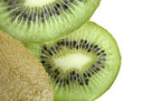 Green juicy Kiwi — Stock Photo