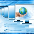 Best Internet Concept of global business from concepts series — Stock Photo #5843626