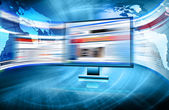 Meilleur concept d'internet d'affaires global de concepts série — Photo