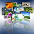 Television and internet production technology concept — Stock Photo #5889471