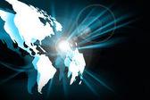 Concetto di internet migliore di business globale da una serie di concetti — Foto Stock