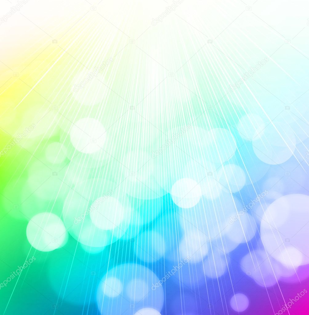 Bokeh abstract light background  and the sun — Stock Photo #5889364