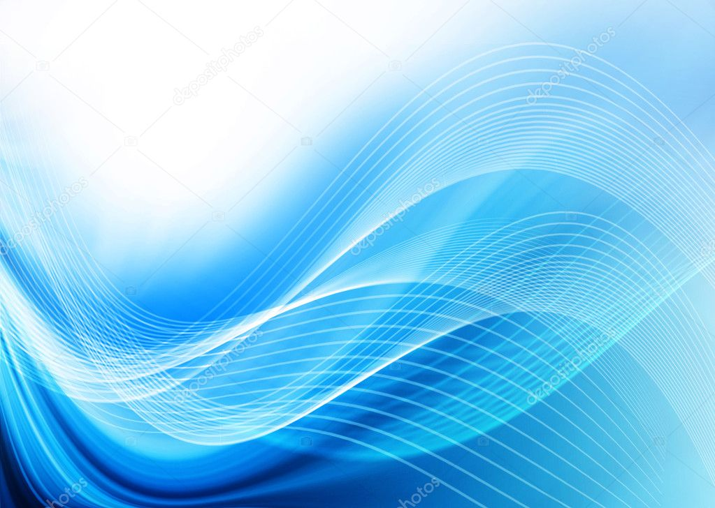 Beautiful abstract blue background — Stock Photo #5889506