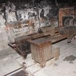 Crematorium in Auschwitz camp 1 — Stock Photo