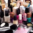 Stock Photo: Cosmetic collection