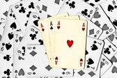 玩牌 — 图库照片