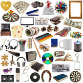 Collection of objects — 图库照片