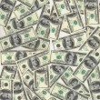Background of dollars — Stock Photo