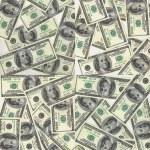 Background of dollars — Stock Photo #6318683