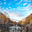 Bicycle in amsterdam — Stock Photo #6319071