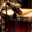 Stock Photo: Drum with drumstick