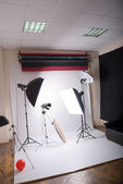 Photographic studio — Foto de Stock