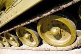 Tank tracks — Stock Photo