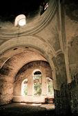 屋内での古い教会 — ストック写真