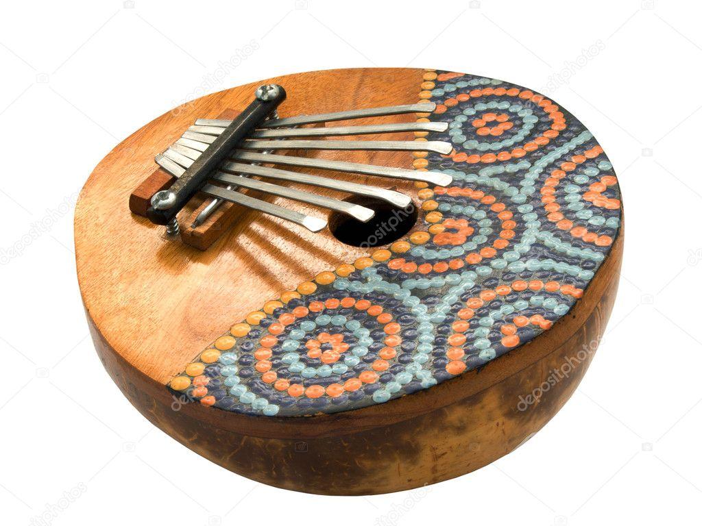 Kalimba — Photographie gorielov © #6317807 ~ Instrument En Bois Africain