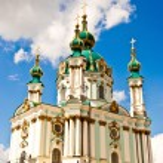 Church in ukraine — Stock Photo
