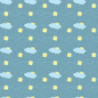 Weather conditions seamless pattern — Stock Photo #5412834