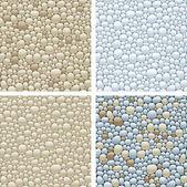 Seamless patterns with stones — Stock Photo