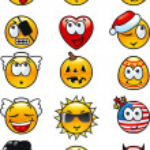 Set avatars — Stock Photo