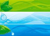 Environmental banners — Stock Vector