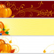 Autumn banners — Stock Vector #6451234