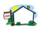 Casa vendida — Vetorial Stock