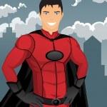Superhero — Stock Vector #5402427