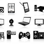 Electronic equipment — Stock Vector